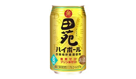 田苑金ラベルハイボール350ml