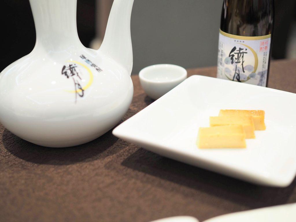 繊月と燻製豆腐