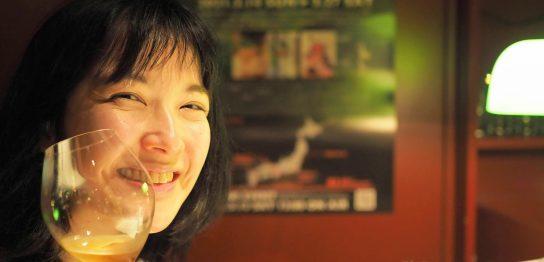 亜樹穂と焼酎カクテル2